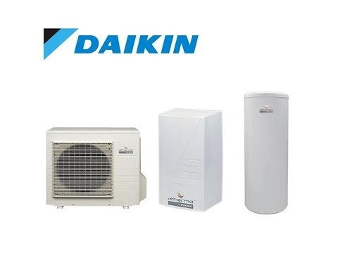 DAIKIN Altherma 3 с баком ГВС 180 л от 4 до 7,5 кВт